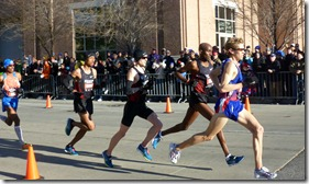 1.14.2012 Men MILE 10 lead pack close