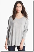 trouve high low sweater